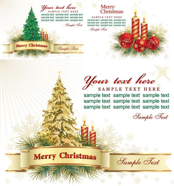 圣诞节贺卡背景 素材中国sccnn Com