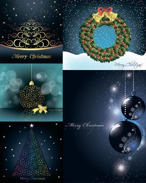 圣诞节装饰元素