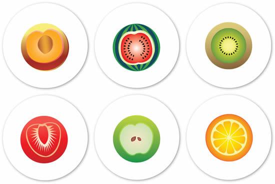 西红柿果肉细胞手绘图
