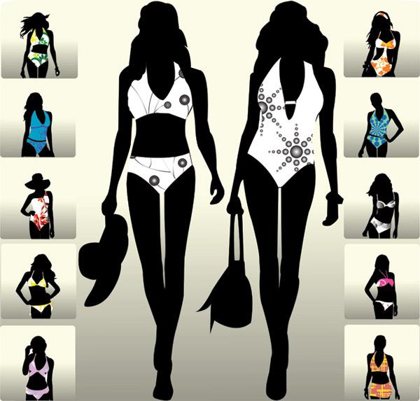 0 点 关键词: 模特走秀剪影矢量素材,模特,走秀,剪影,人物,展示,服装