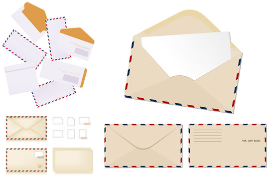 商业信封信纸