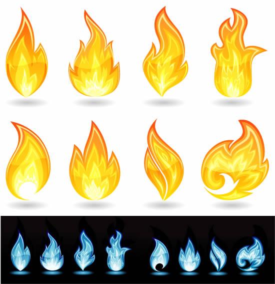 火焰火苗矢量