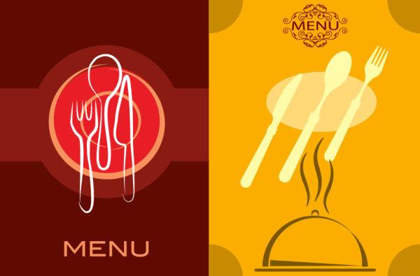 餐厅菜单模板_平面广告