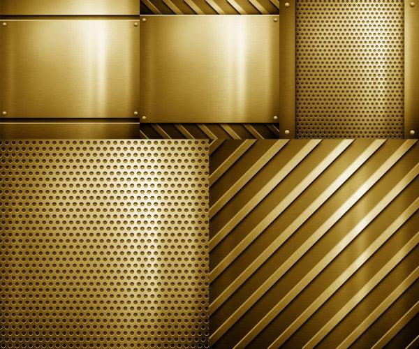 金色钢板图片
