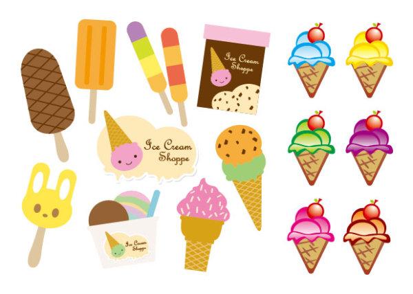 0 点 关键词: 可爱雪糕矢量素材,可爱,雪糕,圆筒,冰棍,可爱,卡通,矢量