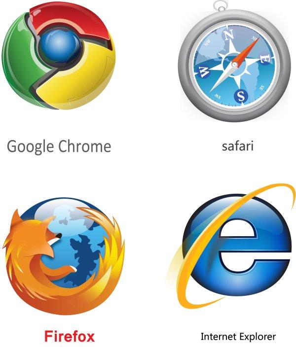 浏览器图标_矢量IT类标志 - 素材中国_素材