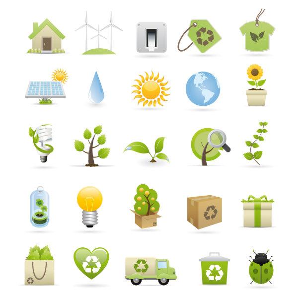 图标/绿色环保图标