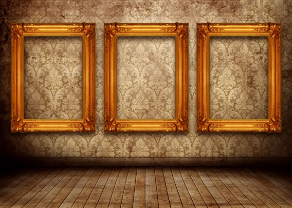 欧式风格室内陈设高清图片
