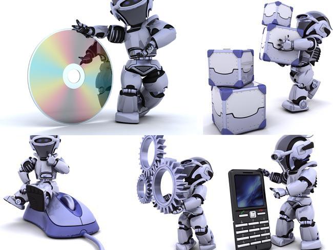 3D机械人图片