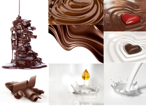 巧克力牛奶 素材中国sccnn Com