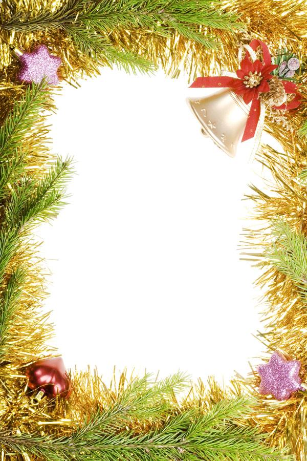 圣诞节饰物边框9
