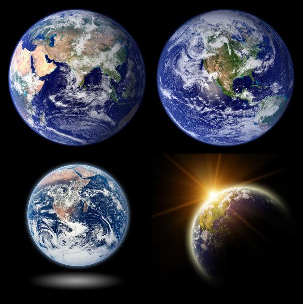 地球高清图片-2_地图