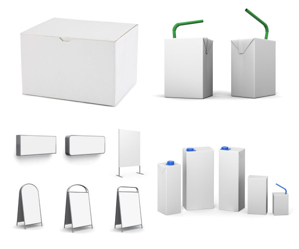 3d纸盒模型