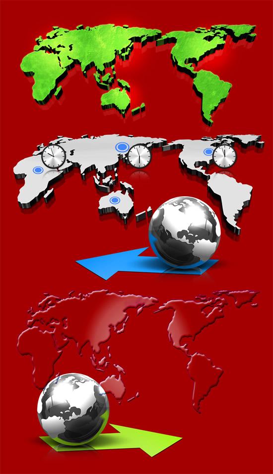 地图地形图