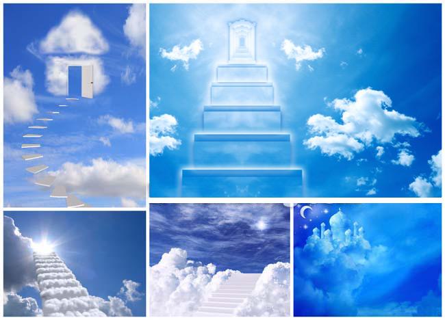 素材 中国 天国的阶梯/天国的阶梯