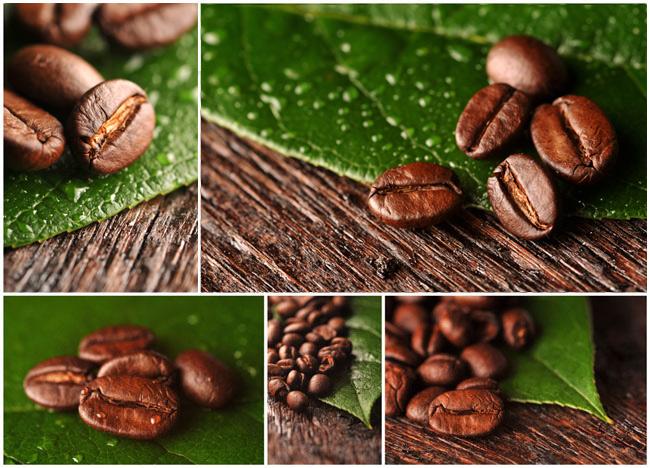 咖啡豆高清图片