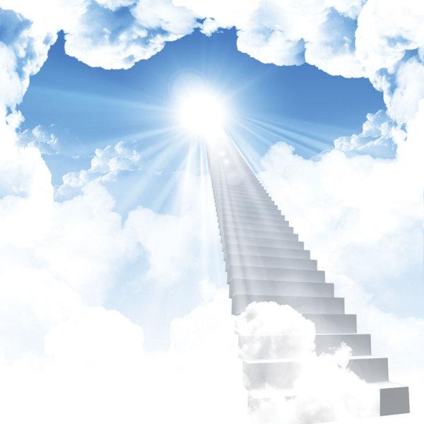 梦境,阶梯,天堂