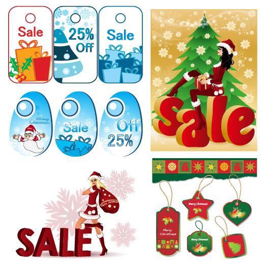 圣诞节打折销售