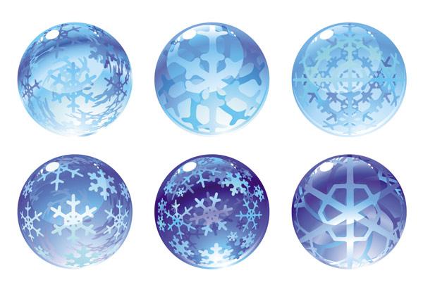 雪花水晶球