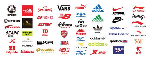 运动品牌logo_矢量体育标志