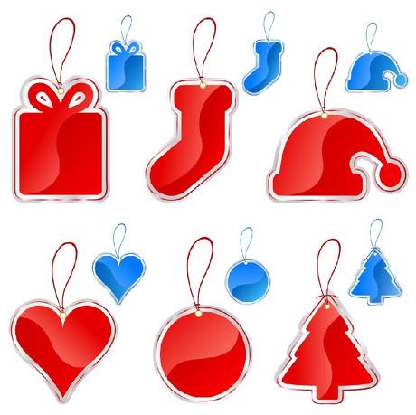 圣诞主题吊牌