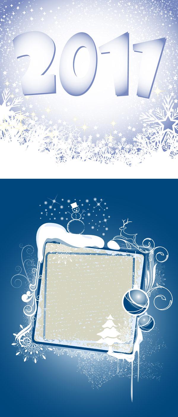 2011圣诞雪花