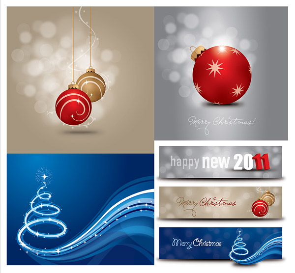 2011年圣诞节矢量