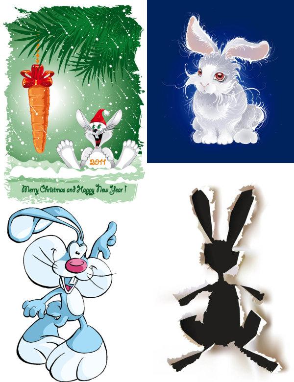 可爱的小兔子怎么画 画可爱的小兔子 画一只可爱的小兔子