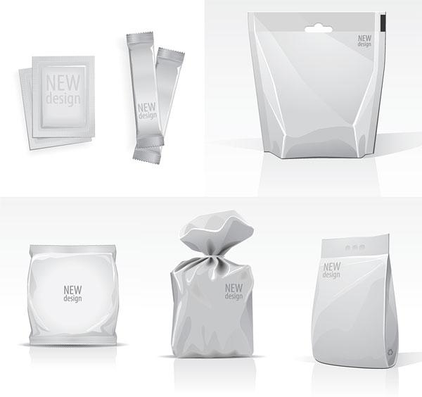 素材分类: 矢量请柬设计所需点数: 0 点 关键词: 空白包装袋模板矢