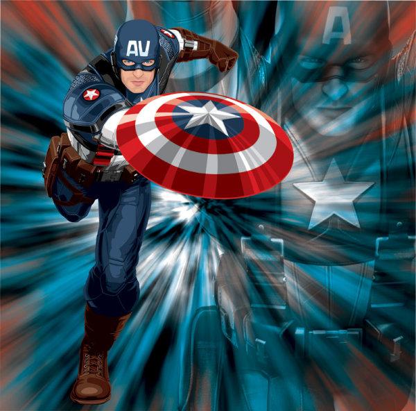 美国队长图片