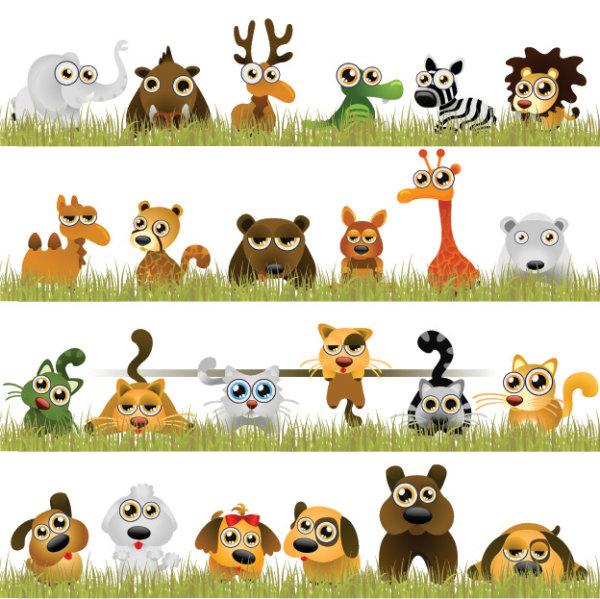 动物,宠物,大象,犀牛,鹿,鳄鱼,斑马,狮子,骆驼,豹子,熊,松树,长颈鹿