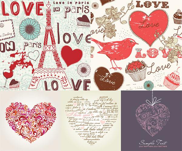 手绘,涂鸦,心形,爱情,心型