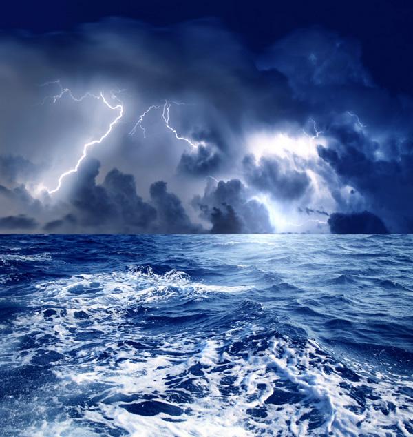 自然风景龙卷风