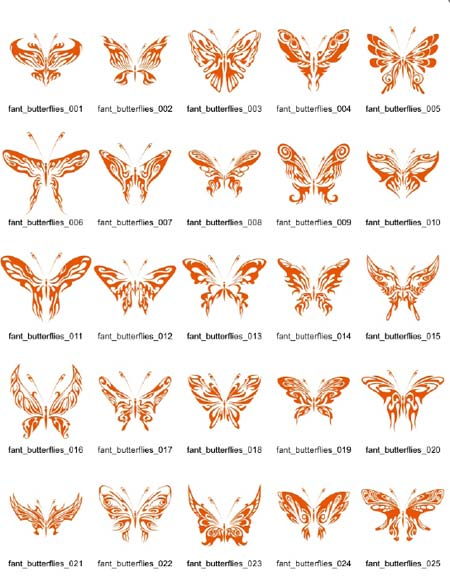 蝴蝶图案设计