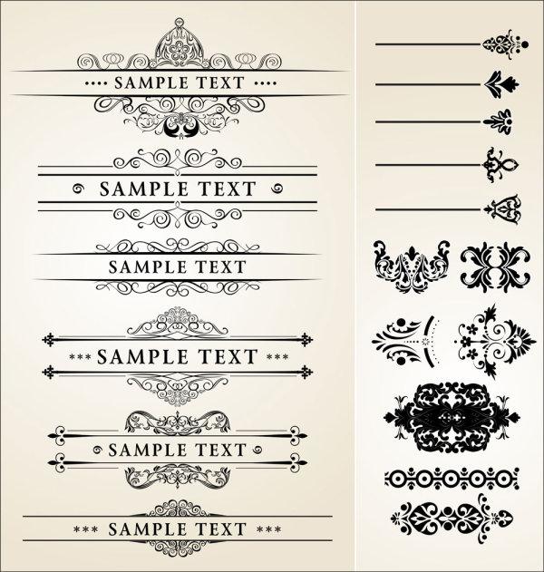 矢量花纹所需点数: 0 点 关键词: 欧式经典花纹花边,经典,欧式,花纹