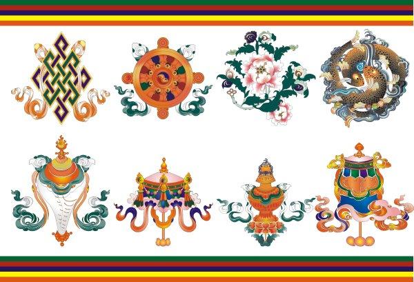 西藏吉祥八宝