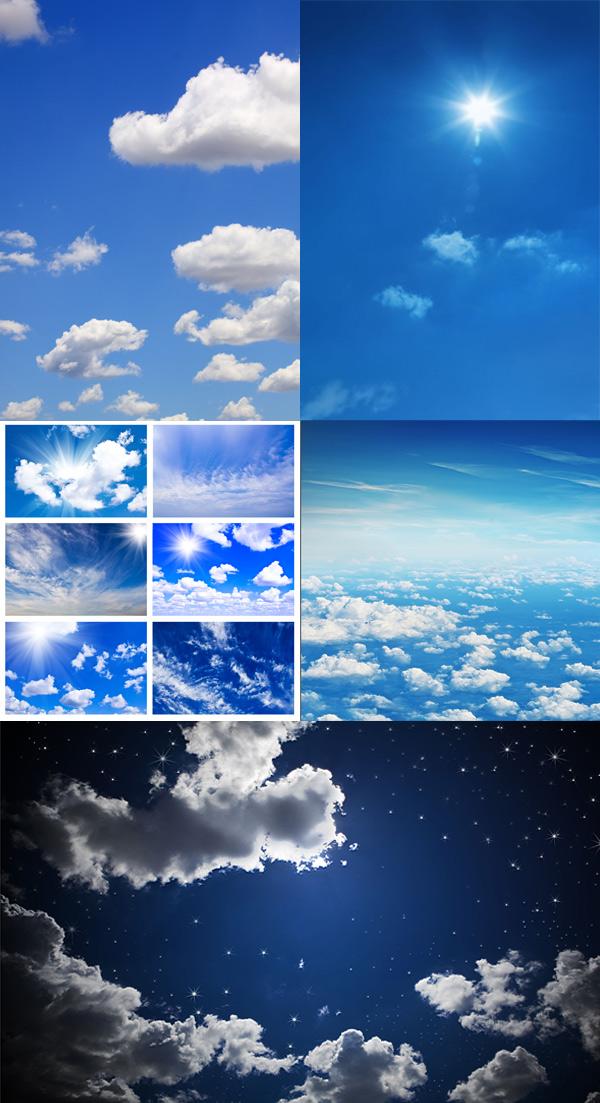 蓝天白云_自然风景 - 素材中国_素材cnn