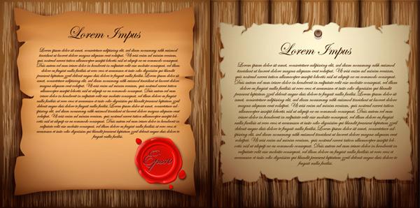 0 点 关键词: 木板与旧纸张矢量素材,木板,木纹,旧纸张,钉子,牛皮纸