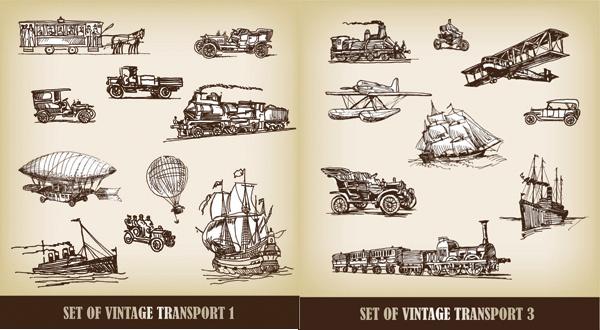 从马车到飞机动画片
