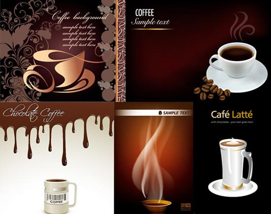 咖啡主题应用海报