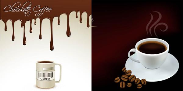 精美咖啡元素
