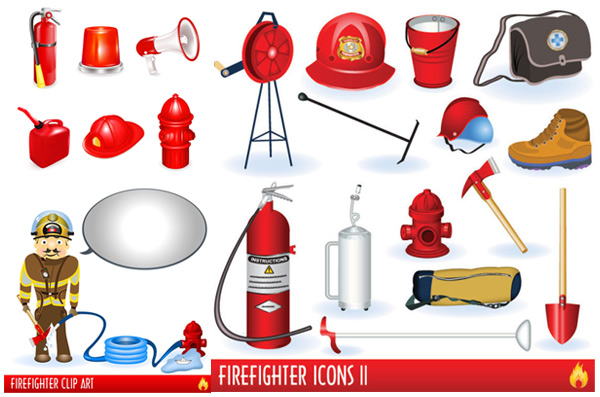 Of firefighters and fire fighting equipment fire fighting equipment