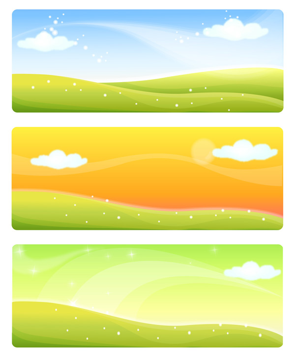 素材 中国 素雅/素雅春色Banners