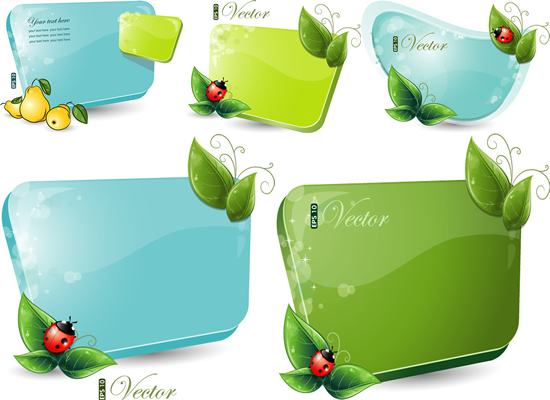 Green Leaf Border Line Green leaf decorative borders