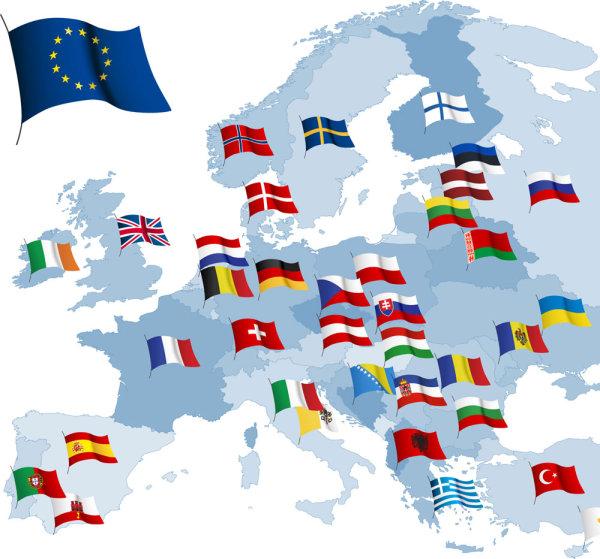 欧盟国家国旗_素材中国sccnn.com图片
