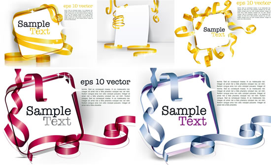 0 点 关键词: 彩色丝带缠绕立体边框矢量素材,丝带缠绕,立体边框,装饰