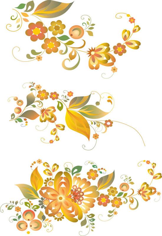 素材分类: 矢量花纹所需点数: 0 点 关键词: 淡雅鲜花艺术花卉矢量图