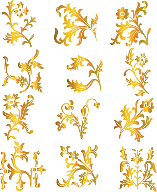 gold pattern Archives - Vector Gallery
