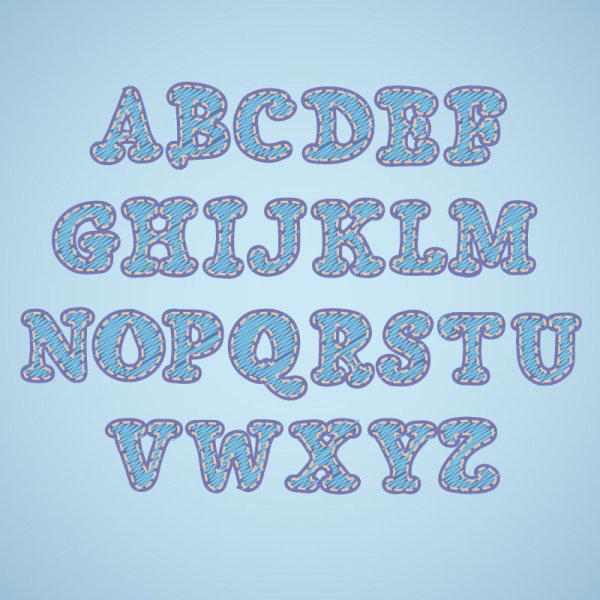 26 字母可爱图片