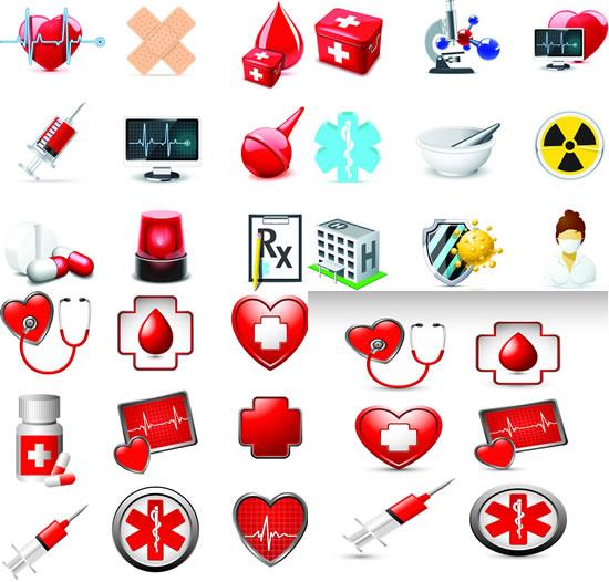 国外急救医疗logo设计